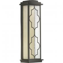 Progress P560107-129-30 - Northampton LED Collection One-Light Med LED Wall Lantern, Architectural Bronze Finish