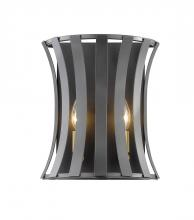 Z-Lite 446-2S-BZGD - 2 Light Wall Sconce