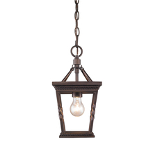 Golden 4214-M1L EB - Davenport Mini Pendant in Etruscan Bronze