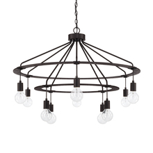 Capital 425603BI - 10 Light Chandelier
