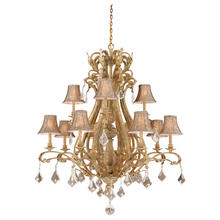 Vaxcel International EP-CHS012PP - Empire 12L Chandelier