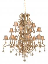 Vaxcel International EP-CHS016PP - Empire 16L Chandelier